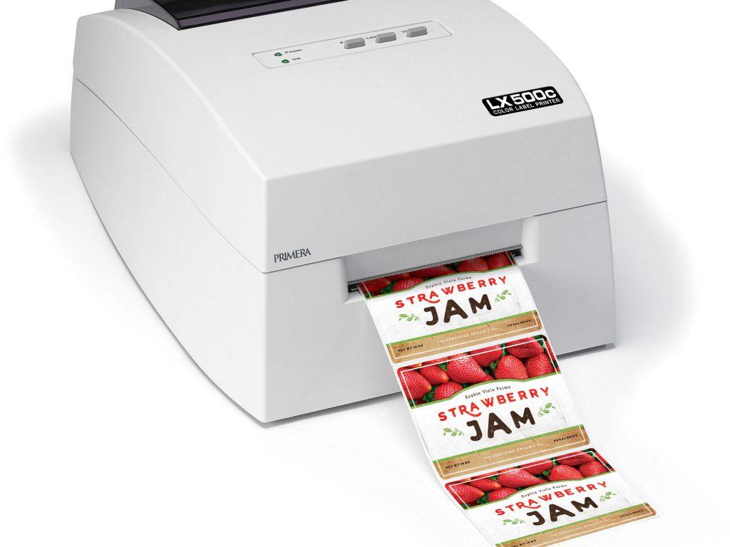 Printer za etikete se ponaša tudi z izjemno hitrostjo