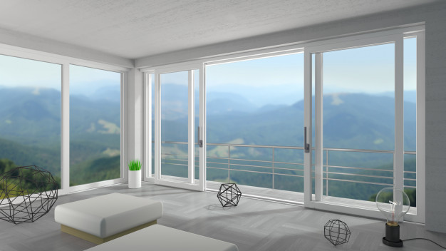 Drsna steklena vrata se odlično obnesejo za različne prostore