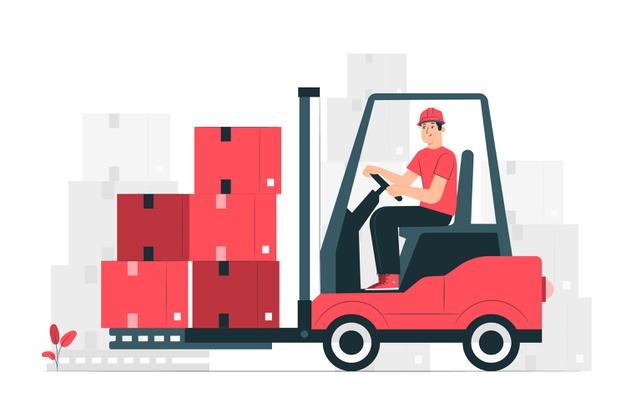 Viličar je zmogljiv delovni stroj za nakladanje in razkladanje tovora