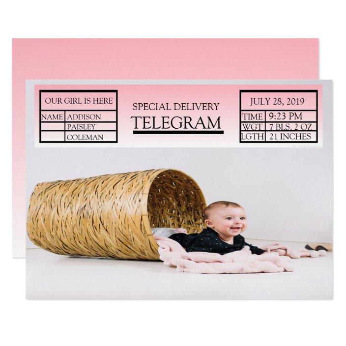 Telegrami za porodnišnico